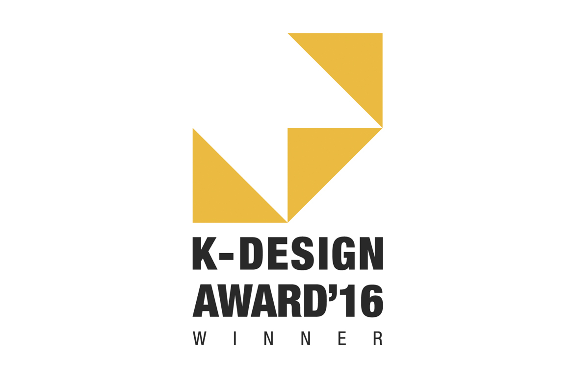 Winner K-Design Award 2016
